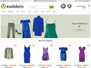 Shop-Theme Vendero, perfekt passend zum WordPress PlugIn WooCommerce Germanized