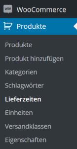 Produkteigenschaften in WooCommerce anlegen