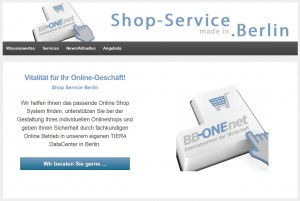 Onlineshop Services