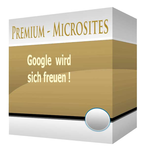 Google belohnt die MicroSite