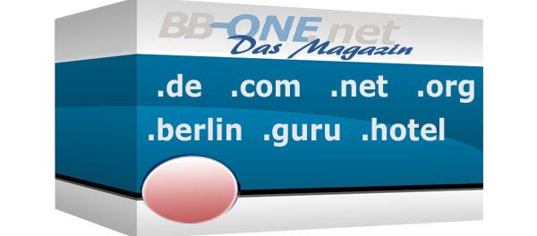 Domains: generische geographische, neue und alte