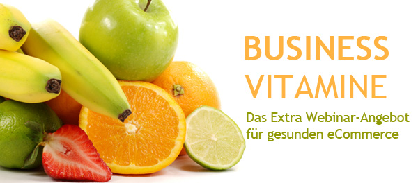 Business Vitamine Webinar-Angebot