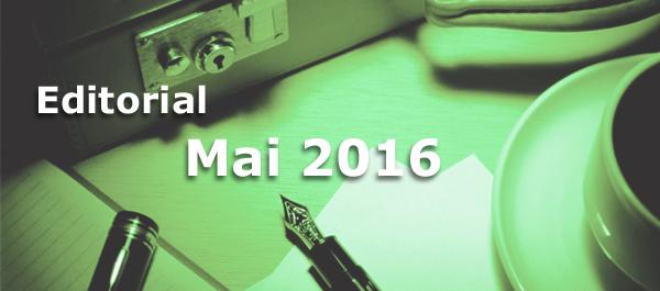 Editorial des BB-ONE.net Internet Magazins Mai 2016