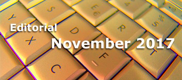 Editorial Internet Business Magazin November 2017