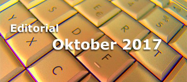 Editorial Internet Business Magazin Oktober 2017