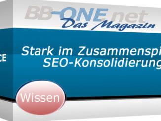 SEO-Konsolidierung - ein neuer Servive der BB-ONE.net