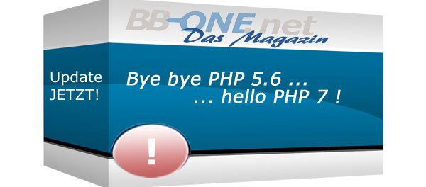 Byebye PHP 5.6 - Hello PHP 7