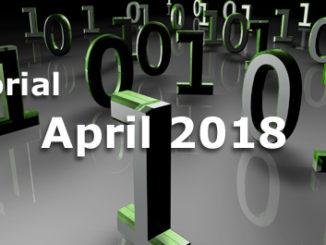 Editorial Internet Business Magazin April 2018
