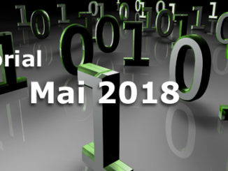 Editorial Internet Business Magazin Mai 2018