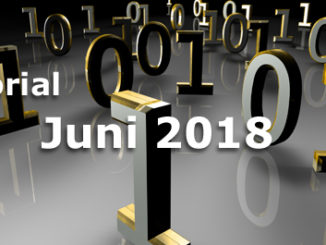 Editorial Internet Business Magazin Juni 2018