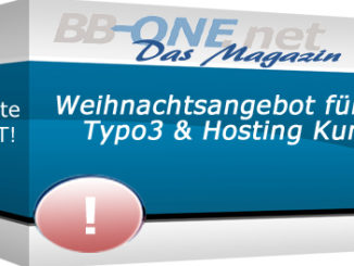 Weihnachtsangebot für Bestandskunden für eun sorgenfreies PHP- und Typo3-Update
