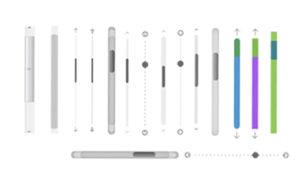 Scrollbars (Bildschirmlaufleisten, Scrolling-Balken)