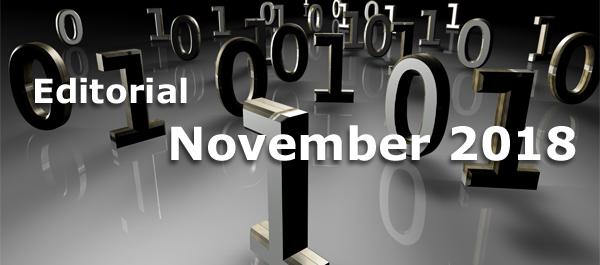 Editorial Oktober 2018 - Soziale WordPress Sicherheit und modernes Webdesign mit Farben
