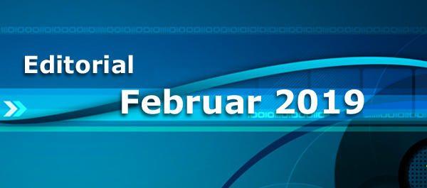Editorial Januar 2019: Internetsicherheit - ein zentrales Thema der Zukunft
