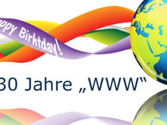 Das World Wide Web feiert seinen 30. Geburtstag
