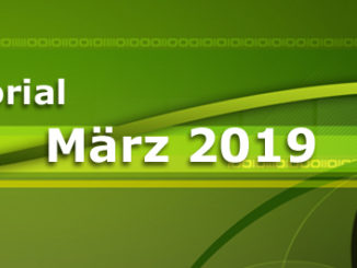 Editorial März 2019 - 30 Jahre World Wide Web - interessante Webinare des eBusiness Lotsen Berlin