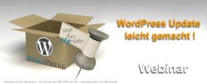 WordPress Updates leicht gemacht - ein Webinar des eBusiness Lotsen Berlin
