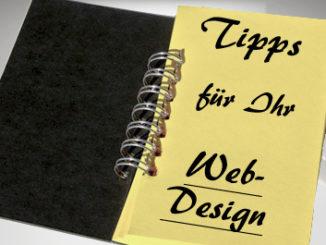 Die fünf wichtigsten Regeln für modernes Webdesign