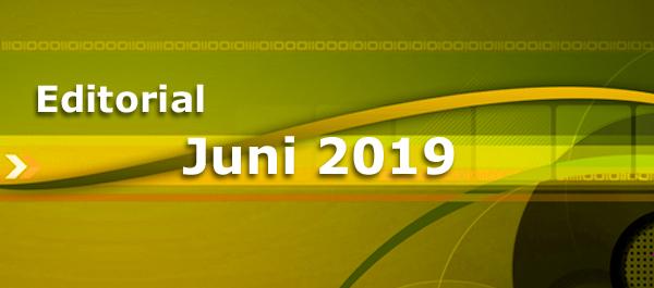 Editorial Juni 2019