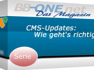 Neue Serie CMS-Updates am Beispiel von Typo3 und WordPress