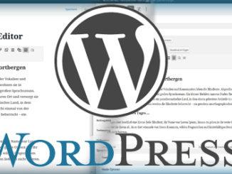 WordPress Updates - Umstieg vom Classic Editor zum Gutenberg Block Editor