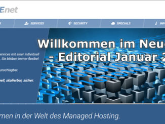 Editorial Januar 2020 des BB-ONE.net Magazin