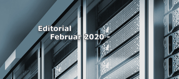 Editorial Februar 2020 - Umzug und Veränderung