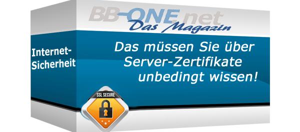 Grundwissen über Server Zertifikate
