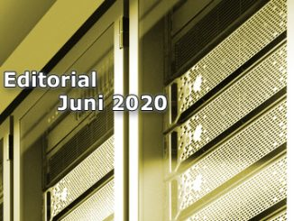 Editorial Internet Magazin Juni 2020 - DropIn Datencloud und Probleme bei der Zertifikatsprüfung