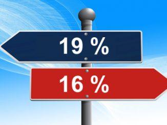 Umsatzsteuersenkung Anpassung per 1. Juli 2020