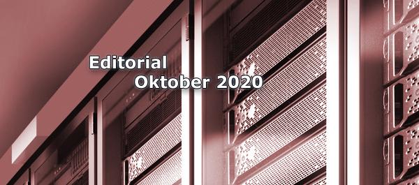 Editorial Internet Magazin im Oktober 2020: Mailarchive, E-Mail-Backup, eMailsicherung