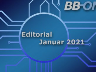 Editorial BB-ONE.net Magazin Jauar 2021, Thema des Monats VPN fürs HomeOffice