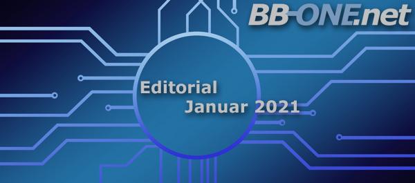 Editorial BB-ONE.net Magazin Jauar 2021, Thema des Monats VPN fürs HomeOffice