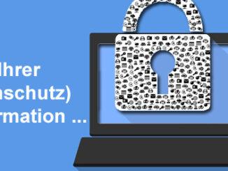 Die Datenschutzerklärung sollte eine kundenfreundliche Datenschutzinformation sein