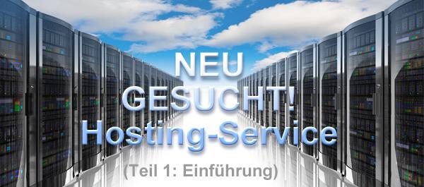 Einführung in die Ausschreibungen von Server Hosting Services
