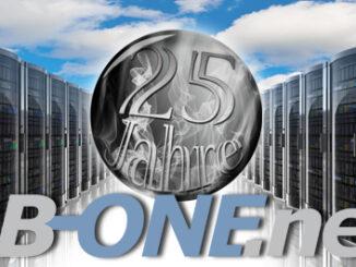 BB-ONE.net feiert sein 25. Jubiläum
