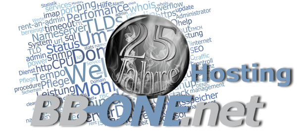 25 Jahre Individualhosting mit BB-ONE.net