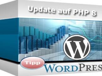 WordPress Datenbank auf PHP 8 aktualisieren