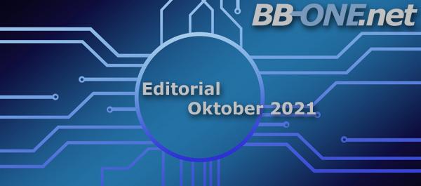 Editorial Oktober 2021: gesicherte Stromversorgung sichere Mailserver-Update